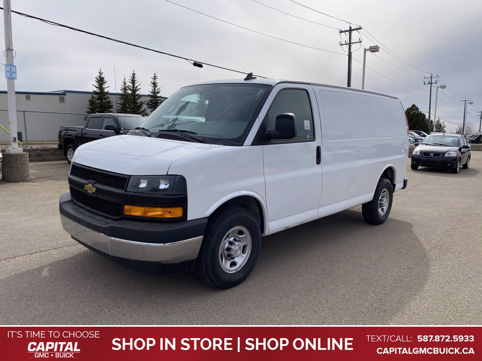 Certified Pre-Owned 2018 Chevrolet Express Cargo Van 2500 RWD 135 6.0 V8 ENGINE