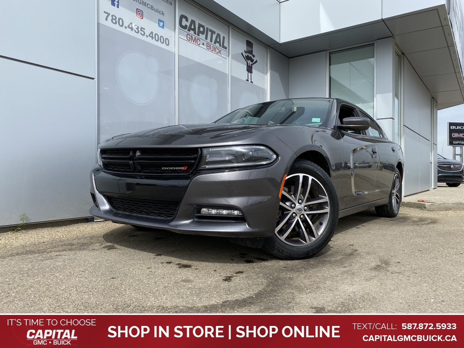 Certified Pre-Owned 2019 Dodge Charger SXT AWD HEATED & COOLED LEATHER HEATED STEERING