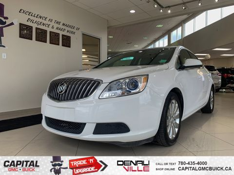 Certified Pre-Owned 2016 Buick Verano BASE | PREMIUM LEATHER TRIMMED SEATS | 4G WIFI HOTSPOT | USB PORT | 96K KMS