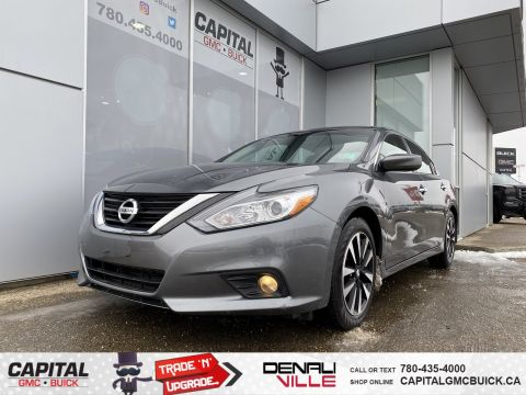 Certified Pre-Owned 2018 Nissan Altima 2.5 SV REMOTE START HEATED STEERING SUNROOF