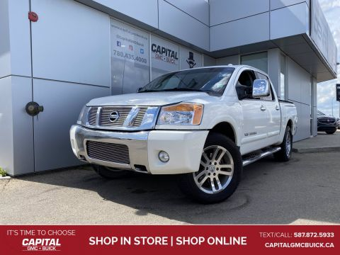 2012 Nissan Titan SL 4WD HEATED LEATHER SUNROOF REAR DVD