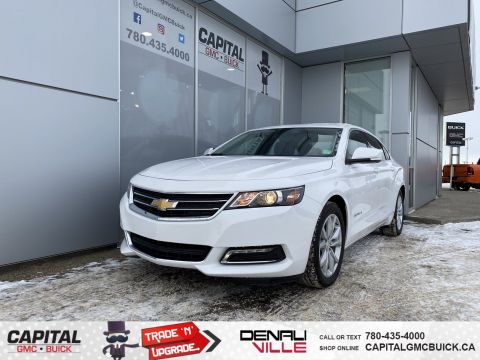 Certified Pre-Owned 2018 Chevrolet Impala LT LEATHER BACKUP CAM MANAGER'S SPECIAL OF THE MONTH!