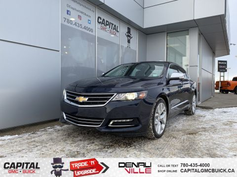 Pre-Owned 2018 Chevrolet Impala PREMIER | REMOTE START | NAV | HEATED SEATS | 55K KMS