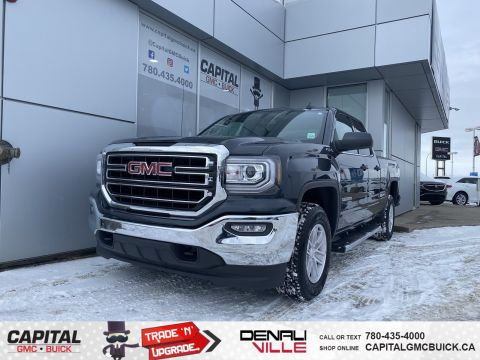 Certified Pre-Owned 2018 GMC Sierra 1500 SLE REMOTE START TONNEAU COVER ONLY 15K