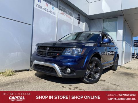 2018 Dodge Journey Crossroad AWD 7 PASS HEATED LEATHER SUNROOF NAV DVD